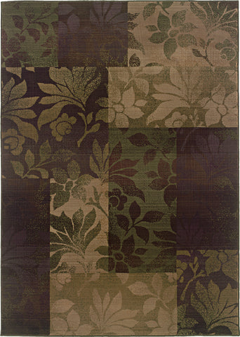 Oriental Weavers Generations 8006A Purple/Green Area Rug main image
