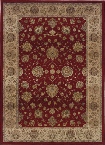 Oriental Weavers Genesis 035R1 Red/Beige Area Rug main image
