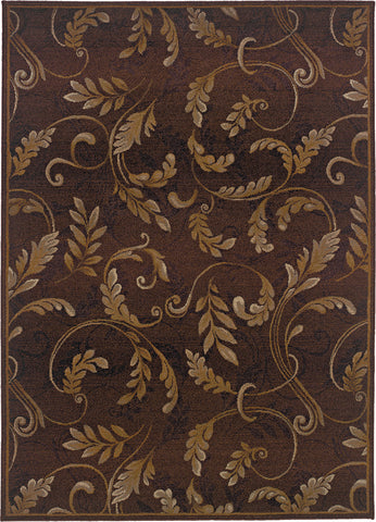 Oriental Weavers Genesis 003X1 Brown/Beige Area Rug main image