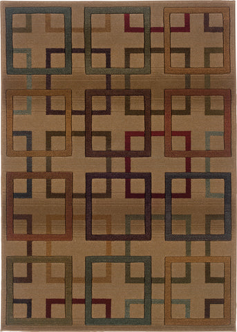 Oriental Weavers Genesis 096J1 Beige/Brown Area Rug main image