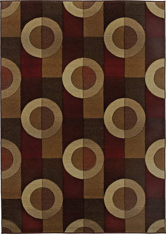 Oriental Weavers Genesis 097R1 Brown/Beige Area Rug main image