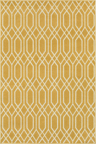 Oriental Weavers Hampton 192Y5 Gold/Ivory Area Rug main image