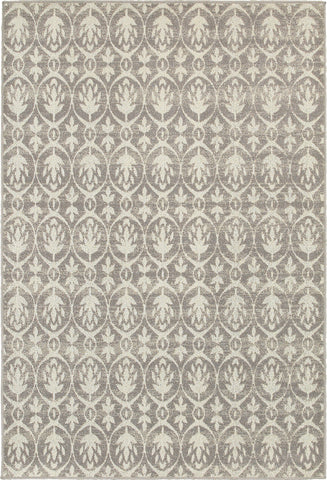 Oriental Weavers Hampton 194E5 Grey/Ivory Area Rug main image