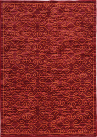 Oriental Weavers Harper 40249 Red/Orange Area Rug main image