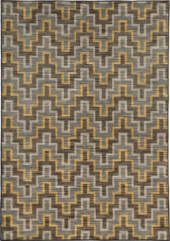 Oriental Weavers Harper 46248 Grey/Gold Area Rug main image