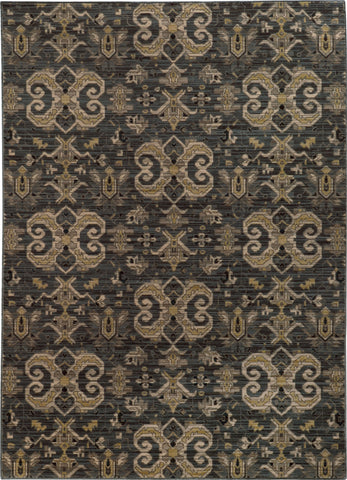 Oriental Weavers Heritage 2163D Blue/Gold Area Rug main image
