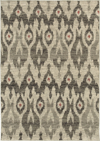 Oriental Weavers Highlands 6301E Ivory/Grey Area Rug main image