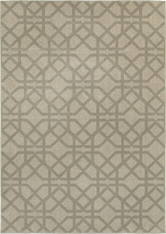 Oriental Weavers Highlands 6638E Grey/Beige Area Rug main image