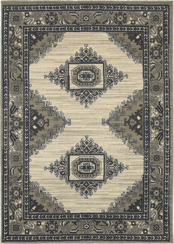 Oriental Weavers Highlands 6658B Beige/Grey Area Rug main image