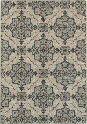 Oriental Weavers Highlands 6677A Beige/Grey Area Rug main image