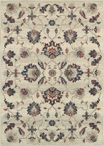 Oriental Weavers Highlands 6684B Beige/Multi Area Rug main image