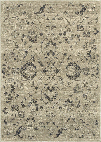 Oriental Weavers Highlands 6684D Beige/Grey Area Rug main image