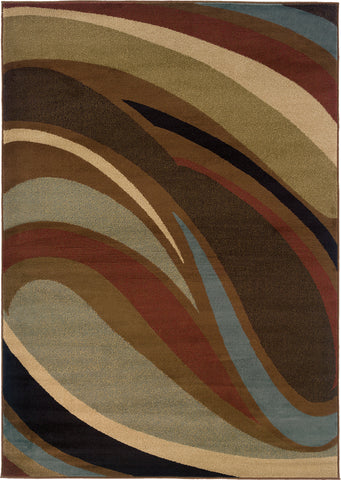 Oriental Weavers Hudson 2666F Brown/Brown Area Rug main image