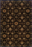Oriental Weavers Hudson 3299B Black/Brown Area Rug main image