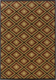 Oriental Weavers Hudson 3302B Gold/Red Area Rug main image
