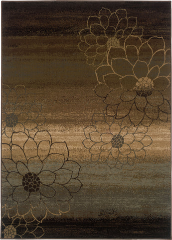 Oriental Weavers Hudson 074A1 Brown/Beige Area Rug main image