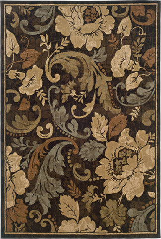 Oriental Weavers Huntington 1279E Brown/Beige Area Rug main image