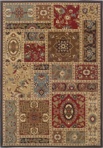 Oriental Weavers Huntington 1716C Beige/Brown Area Rug main image