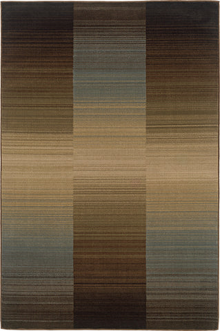 Oriental Weavers Huntington 1991D Brown/Blue Area Rug main image