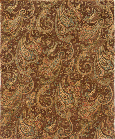 Oriental Weavers Huntley 19102 Brown/Gold Area Rug main image