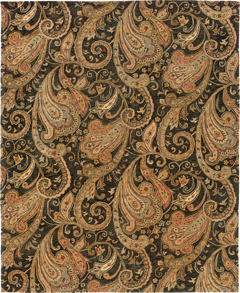 Oriental Weavers Huntley 19104 Black Gold Area Rug Incredible Rugs