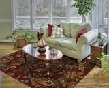 Oriental Weavers Infinity 1105B Red/Green Area Rug RoomScene