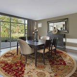Oriental Weavers Infinity 1128A Beige/Red Area Rug Roomshot
