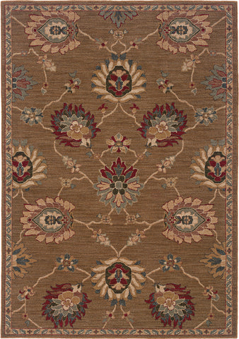 Oriental Weavers Infinity 2227D Brown/Beige Area Rug main image