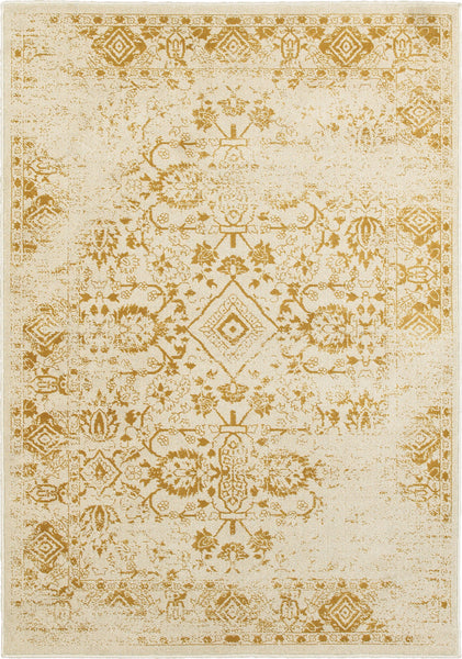 e0b73302501cb Oriental Weavers Jayden 7371D Ivory  Gold Area Rug with Free Pad (select  sizes)