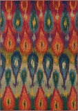 Oriental Weavers Kaleidoscope 2061Z Multi/Red Area Rug main image