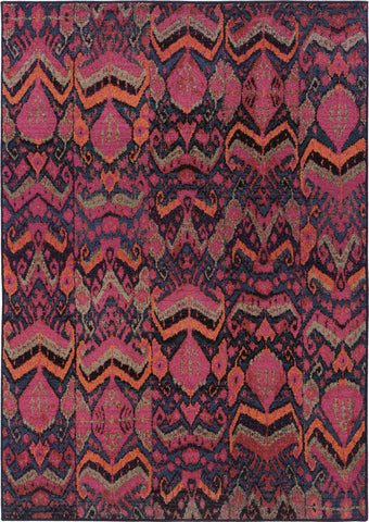 Oriental Weavers Kaleidoscope 004X5 Midnight/Pink Area Rug main image