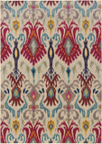 Oriental Weavers Kaleidoscope 502I5 Ivory/Red Area Rug main image