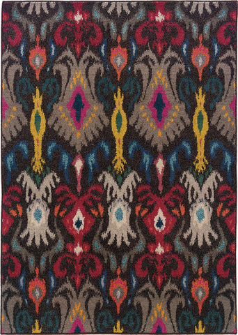 Oriental Weavers Kaleidoscope 502X5 Charcoal/Multi Area Rug main image