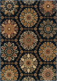 Oriental Weavers Kasbah 3763C Blue/Gold Area Rug main image