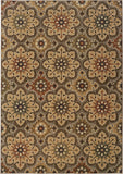 Oriental Weavers Kasbah 3808C Grey/Gold Area Rug main image