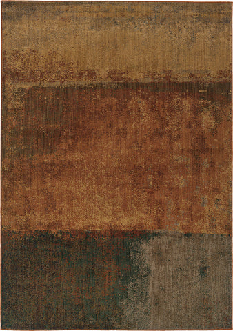 Oriental Weavers Kasbah 3937B Orange/Multi Area Rug main image