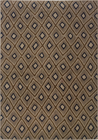 Oriental Weavers Kasbah 3943D Grey/Brown Area Rug main image