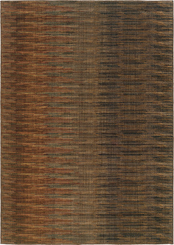 Oriental Weavers Kasbah 3951A Brown/Rust Area Rug main image