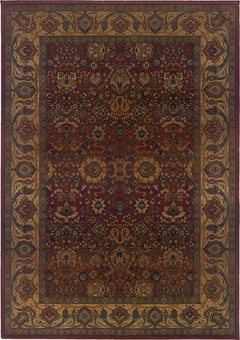 Oriental Weavers Kharma 332C4 Red/Gold Area Rug main image