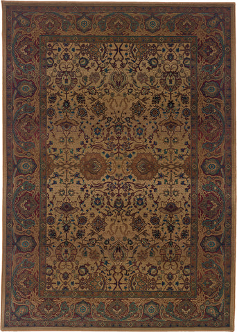 Oriental Weavers Kharma 332W4 Beige/Red Area Rug main image