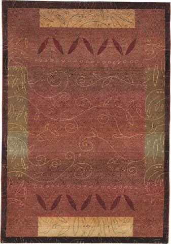 Oriental Weavers Kharma 439R4 Red/Gold Area Rug main image