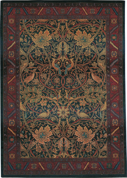 oriental weavers kharma 470x4 red blue area rug incredible rugs and decor. Black Bedroom Furniture Sets. Home Design Ideas