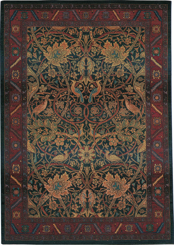 Oriental Weavers Kharma 470X4 Red/Blue Area Rug main image
