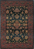 Oriental Weavers Kharma 836F4 Blue/Red Area Rug main image