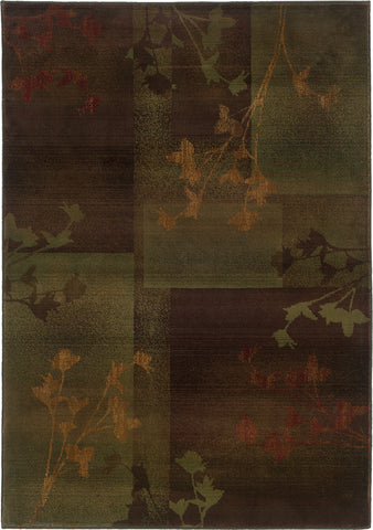 Oriental Weavers Kharma II 1048D Purple/Green Area Rug main image