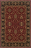 Oriental Weavers Knightsbridge 282R5 Red/Black Area Rug main image