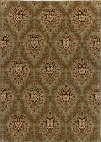 Oriental Weavers Knightsbridge 562F5 Green/Brown Area Rug main image