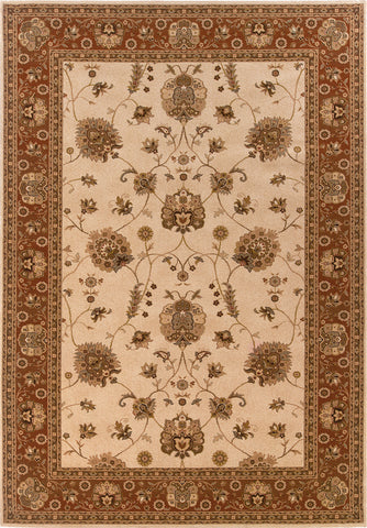 Oriental Weavers Knightsbridge 711J5 Ivory/Red Area Rug main image