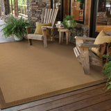 Oriental Weavers Lanai 525D7 Beige/Brown Area Rug Roomshot