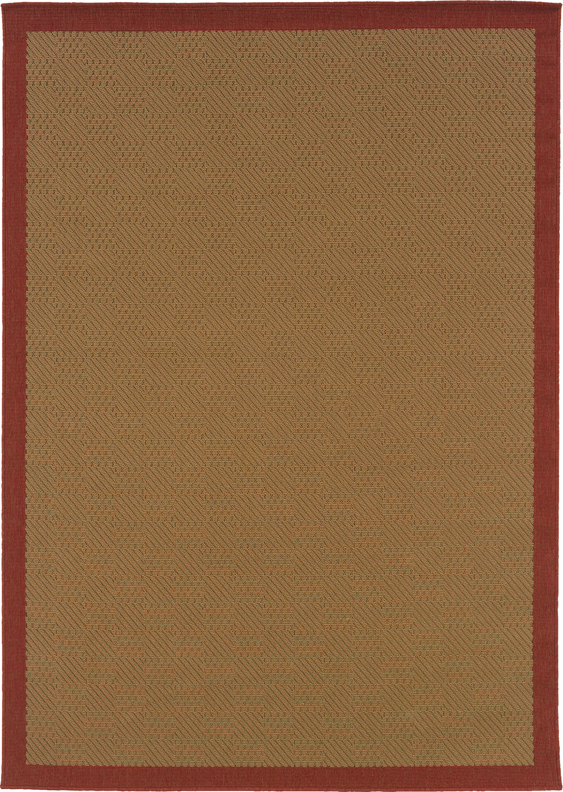 Oriental Weavers Lanai 525O8 Beige/Red Area Rug main image